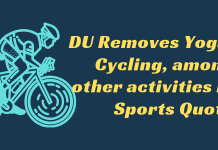 DU-Removes-Yoga-Cycling-among-other-activities-in-Sports-Quota-Aglasem