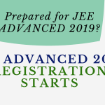 JEE ADVANCED 2019 REGISTRATION STARTS