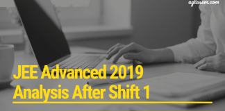 JEE Advanced 2019 Analysis