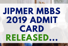 JIPMER-MBBS-2019-ADMIT-CARD-RELEASED-Aglasem