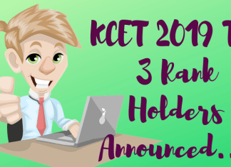 KCET-2019-Top-3-Rank-Holders-Announced- Aglasem