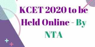 KCET 2020