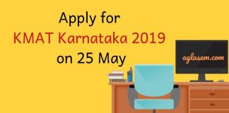 KMAT Karnataka 2019 Application Form
