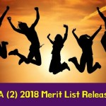 NDA 2 2018 Merit List