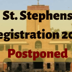 St. Stephens Registration 2019 Postponed