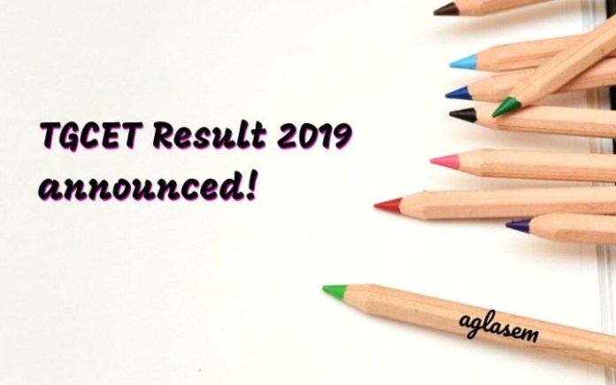 TGCET Results