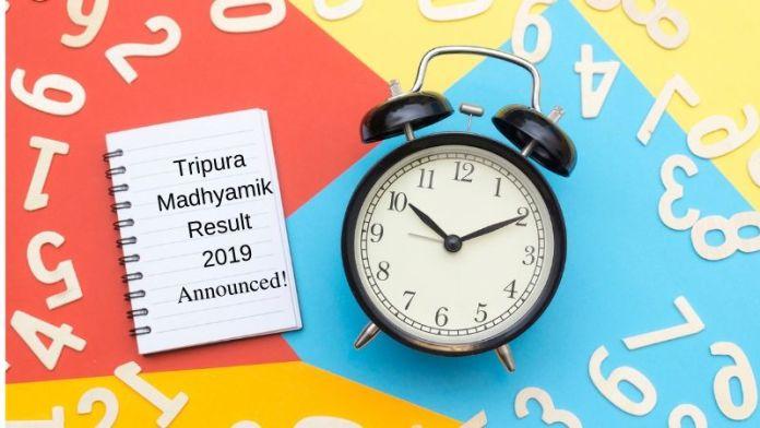 Tripura Madhyamik Result 2019 Announced!