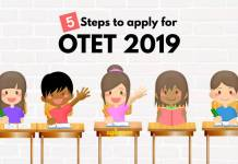 OTET 2019 Apply Online