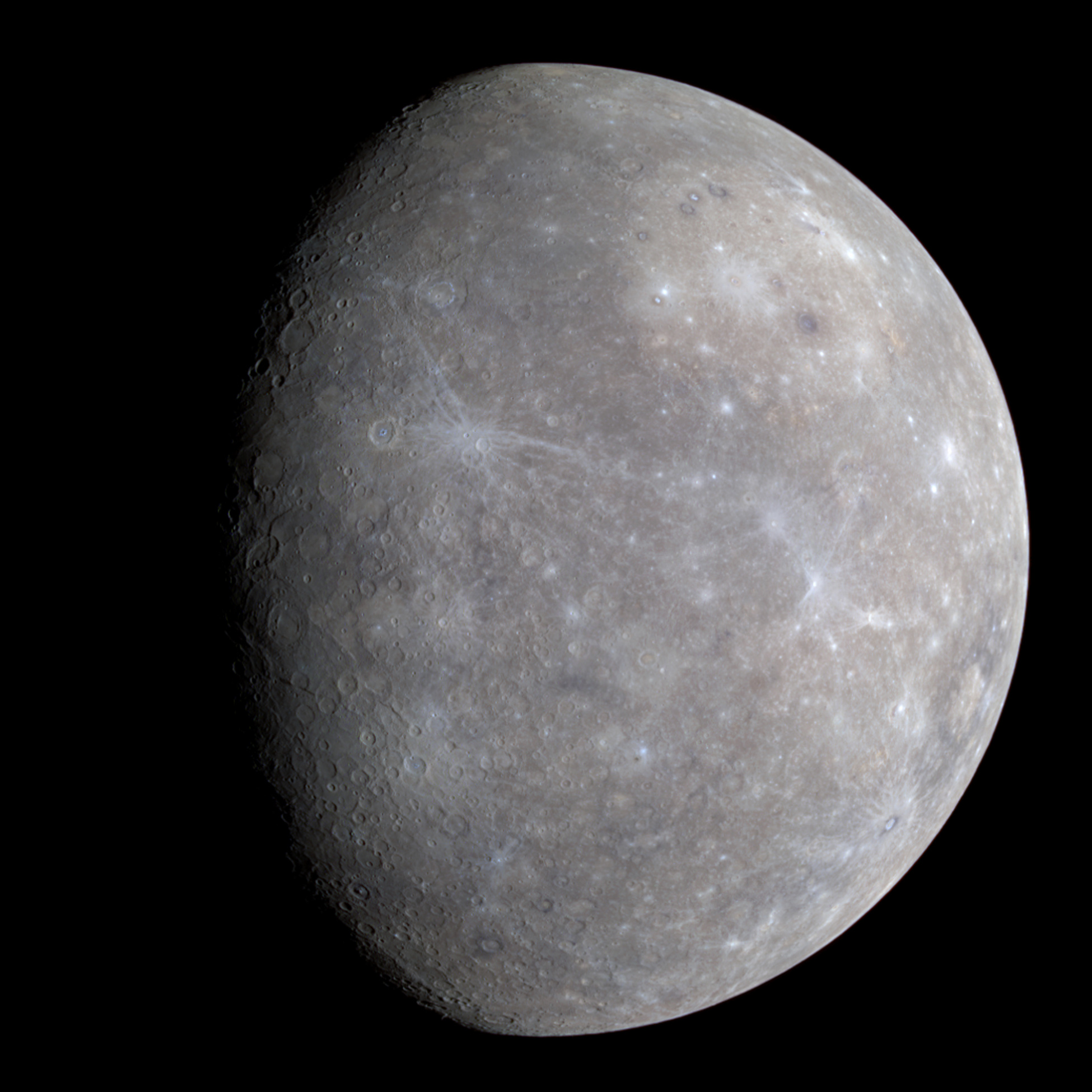 A new large valley on Mercury that may be the first evidence of buckling of the planet's outer silicate shell in response to global contraction, a new study finds.