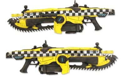 TAXI塗裝騎兵突擊槍