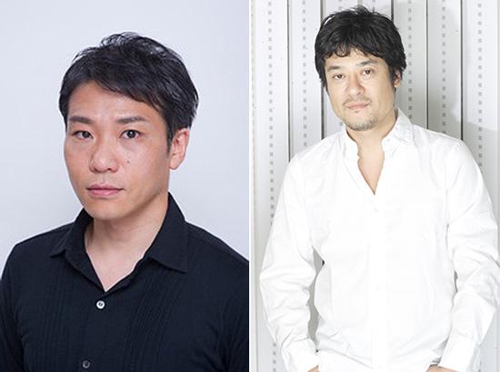 新聞圖1:喜安浩平(左)、藤原啟治(右)
