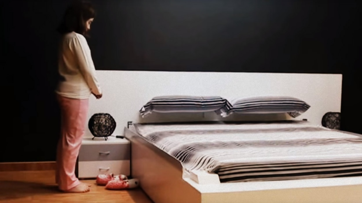 Questo letto è regolata automaticamente, 3 secondi dopo lo stand