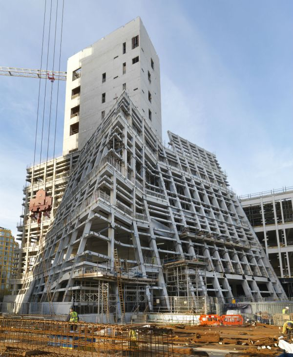 Construction Tate Modern