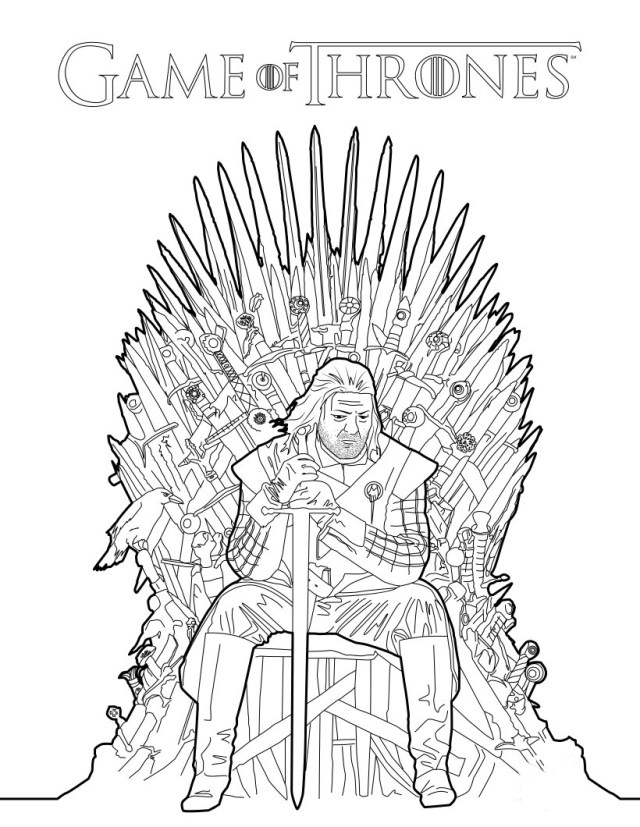 Game of Thrones Coloring Book Announced - artnet News