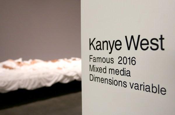 Kanye West Wax Figures Famous Exhibit
