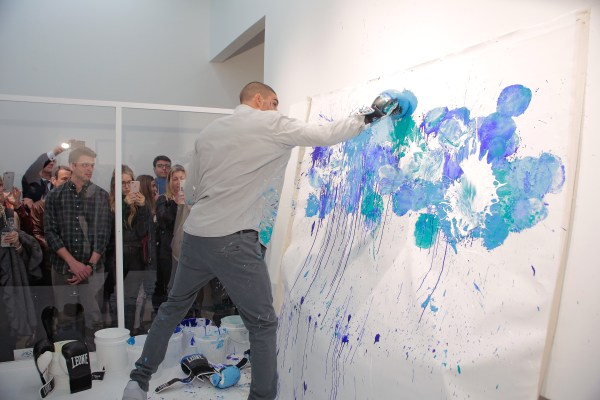 Artnet Asks Artist Omar Hassan And Boxing With Paint