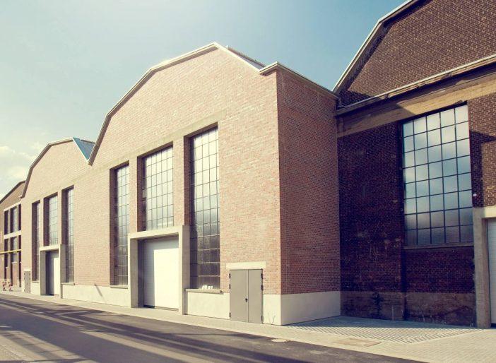 Local onde acontece a Art Düsseldorf, na Areal Böhler