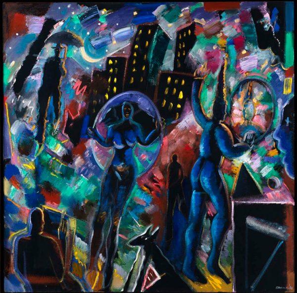 Carlos Almaraz Art Chicano