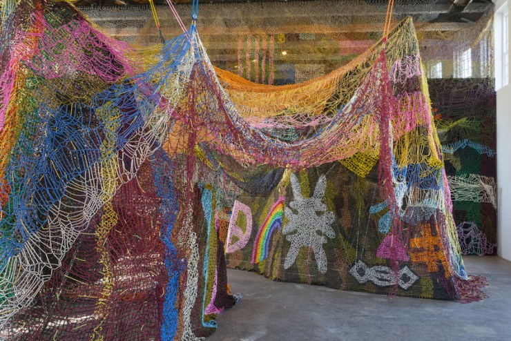 "Nick Cave, ""Until"" (2016), installation view, MASS MoCA. Photo by James Prinz, courtesy of MASS MoCA."