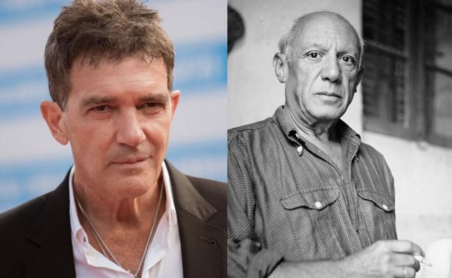 Antonio Banderas Will Finally Get To Play Pablo Picasso