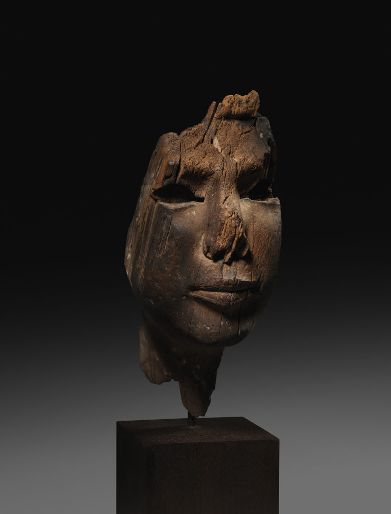 Ancient Egyptian Wood Sculpture Fragment (ca. 1960-1900 B.C.). Photo: courtesy of Rupert Wace Ancient Art, London.