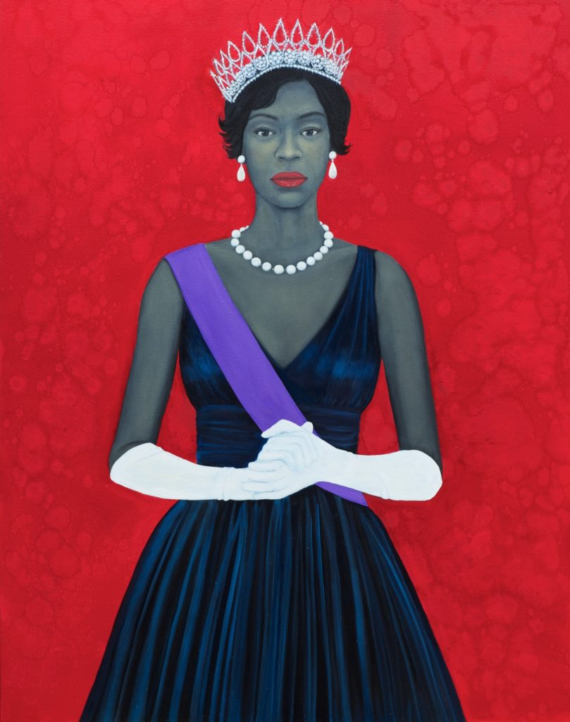 Amy Sherald's Welfare Queen (2012). © Amy Sherald 2017.
