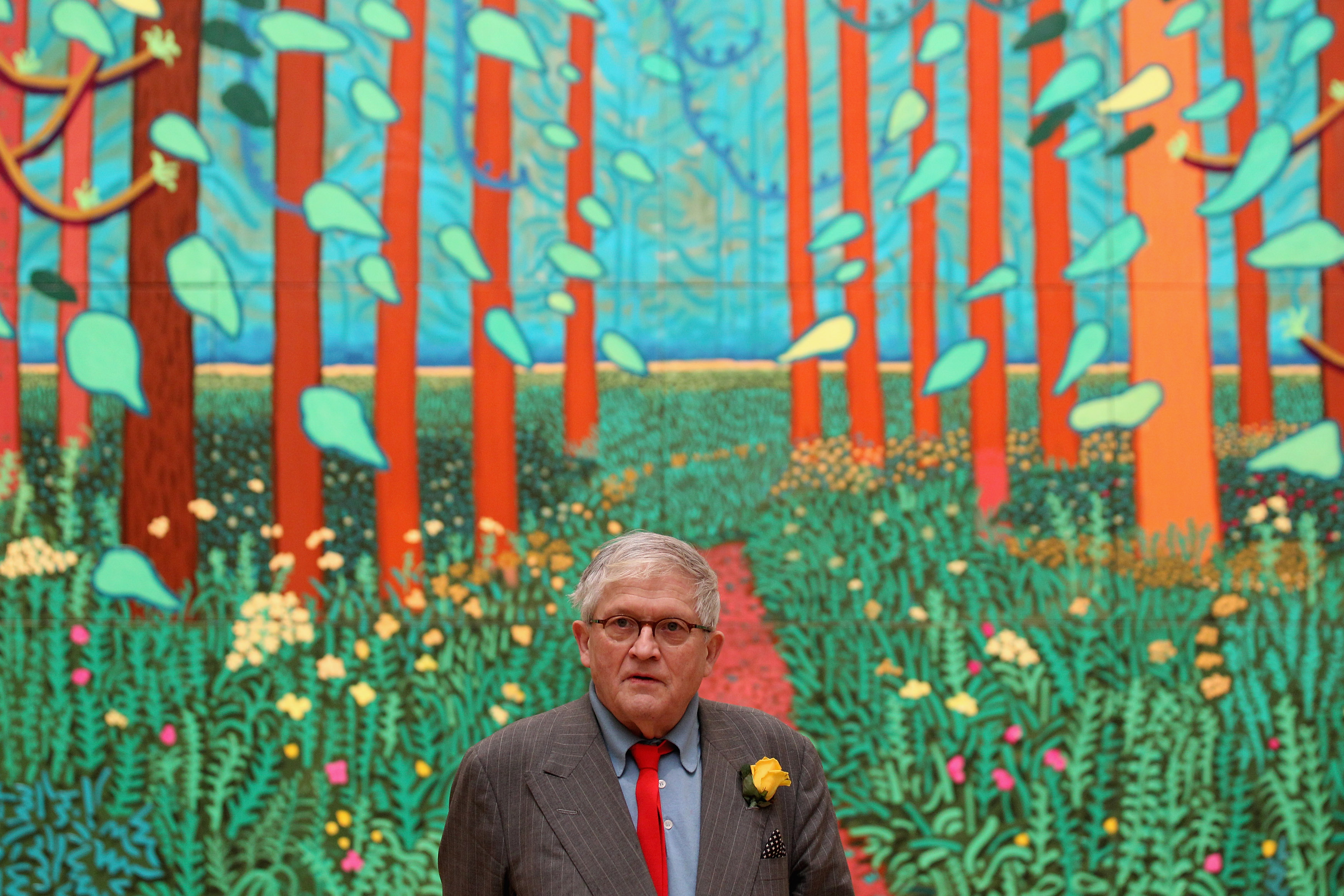 David Hockney on the Imperialism of Western Perspective in Art and the Benefits of Virtual Reality (for Porn)