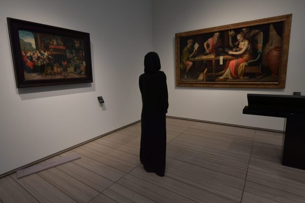Art Industry Louvre Abu Dhabi Closes Viewing Sheikhs' Wives -read Stories