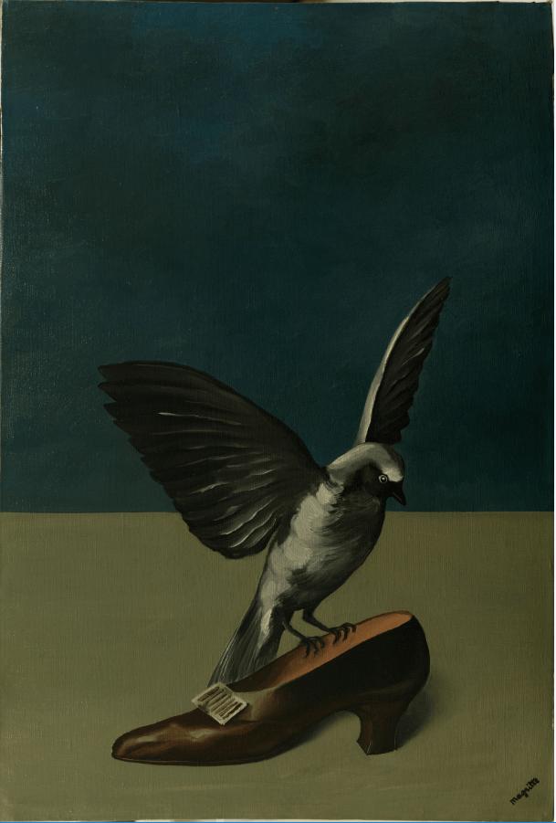 René Magritte's God is not a Saint (1935-36). © Succession René Magritte c/o SABAM © ULiège.