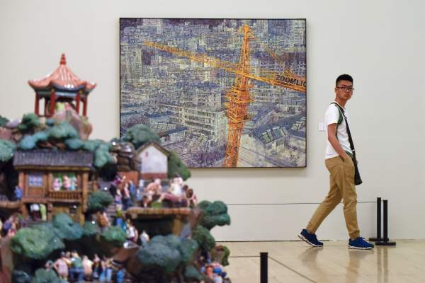 Beijing' National Museum Ousts Louvre World' -attended Art Institution