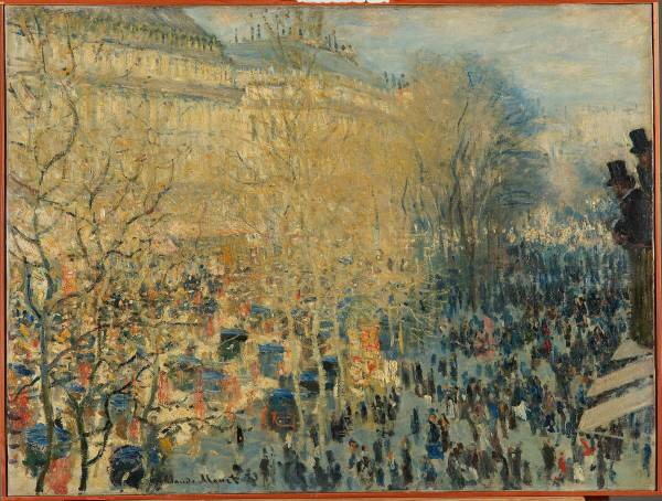 Claude Monet Paintings Paris