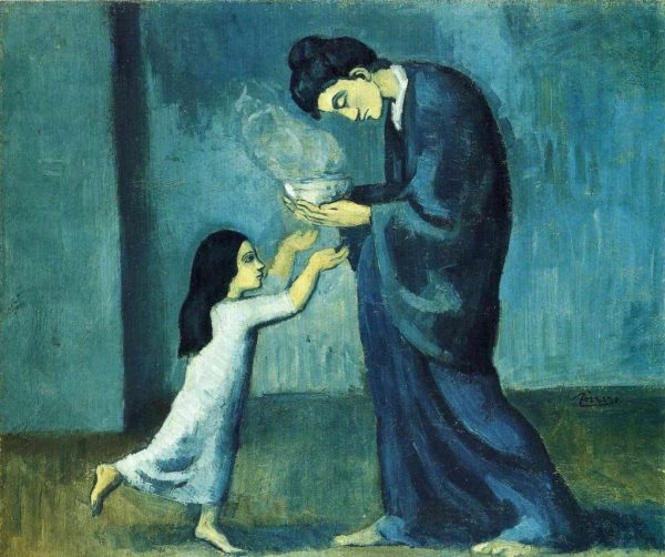 Pablo Picasso Blue Period Art