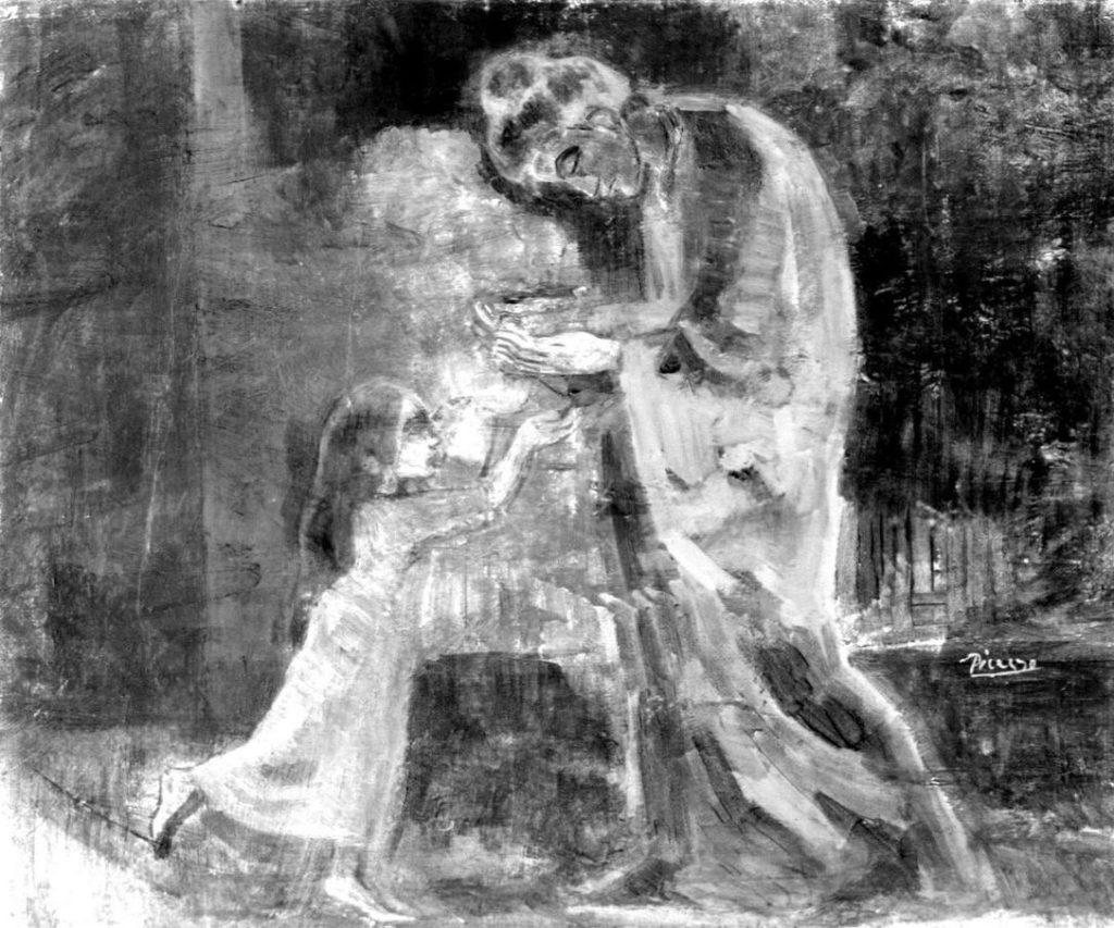 New X Ray Images Reveal Just How Carefully Picasso Worked Over His Earliest Blue Period Paintings