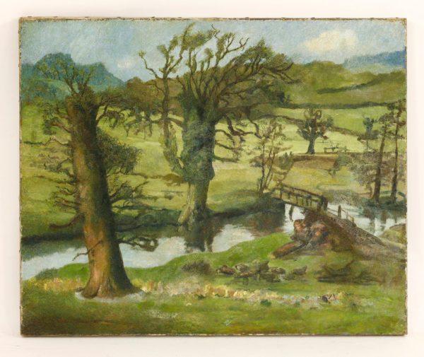 Early Lucian Freud Landscape Turns