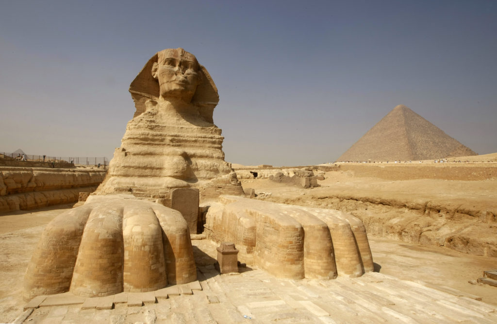another ancient sphinx is
