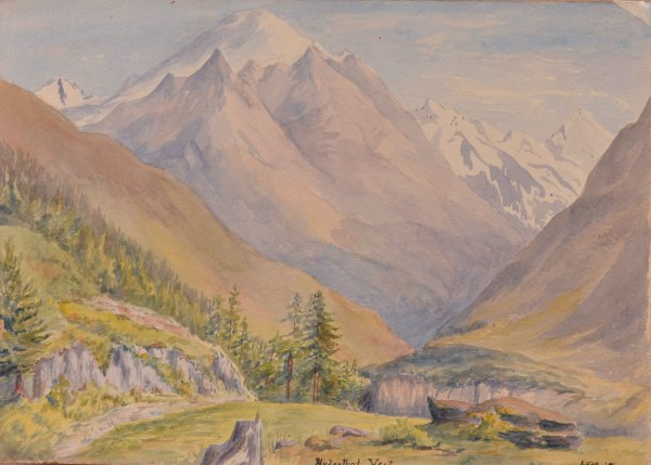 Police Seize Clich Mountain Paintings '. Hitler'