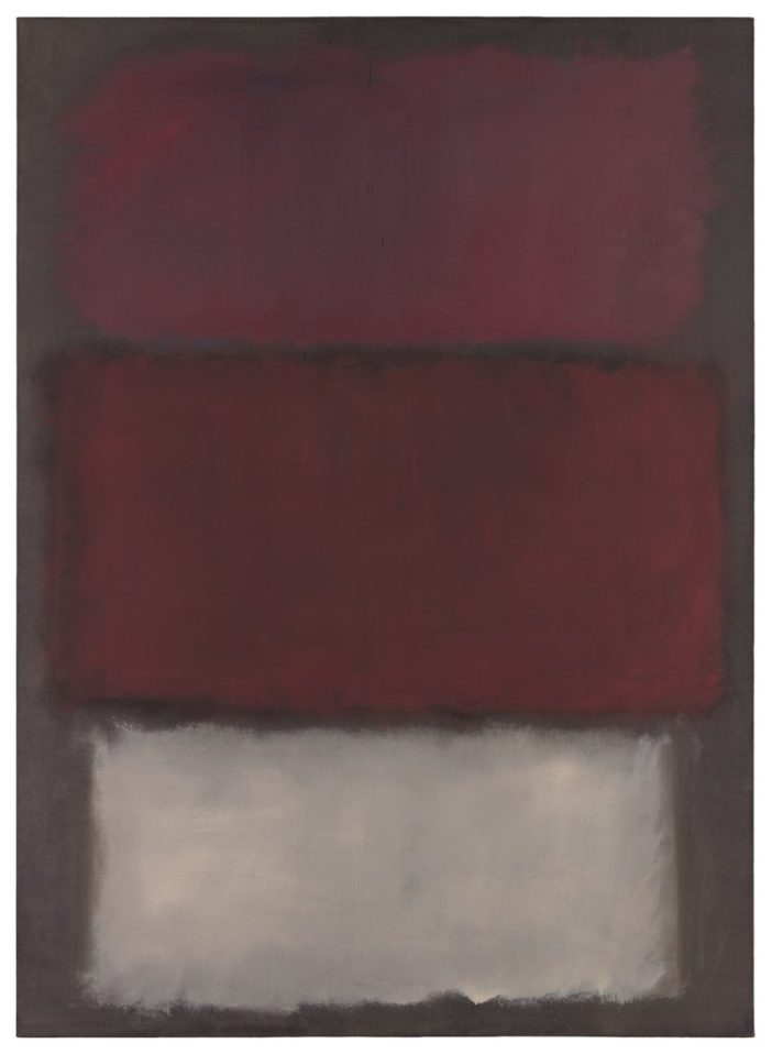 Mark Rothko, Untitled (1960). Image courtesy of Sotheby's.
