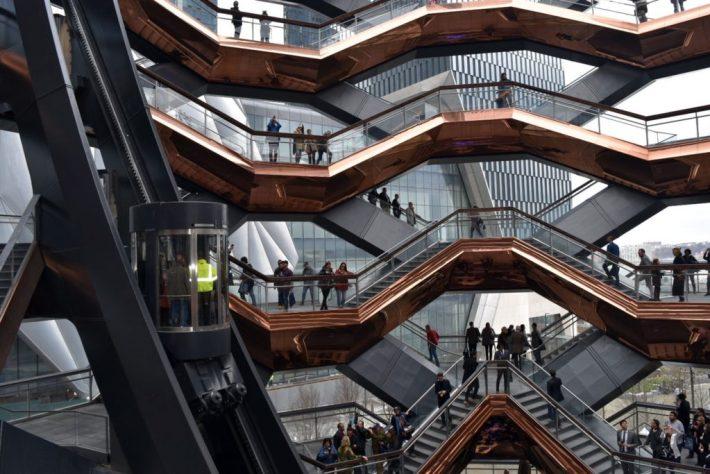 View of the elevator in 'Vessel.' Image courtesy Ben Davis.