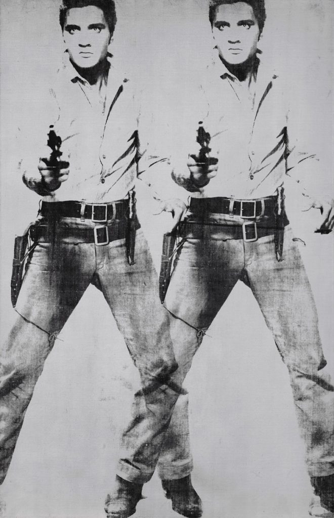 Andy Warhol, Double Elvis [Ferus Type] (1963). Courtesy of Christie's Images Ltd.