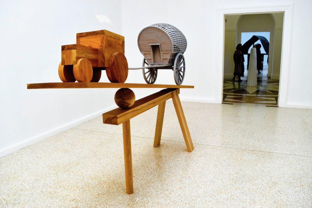 Venice Biennale 2019 Martin Puryear, New Voortrekker (2018). Image courtesy Ben Davis.