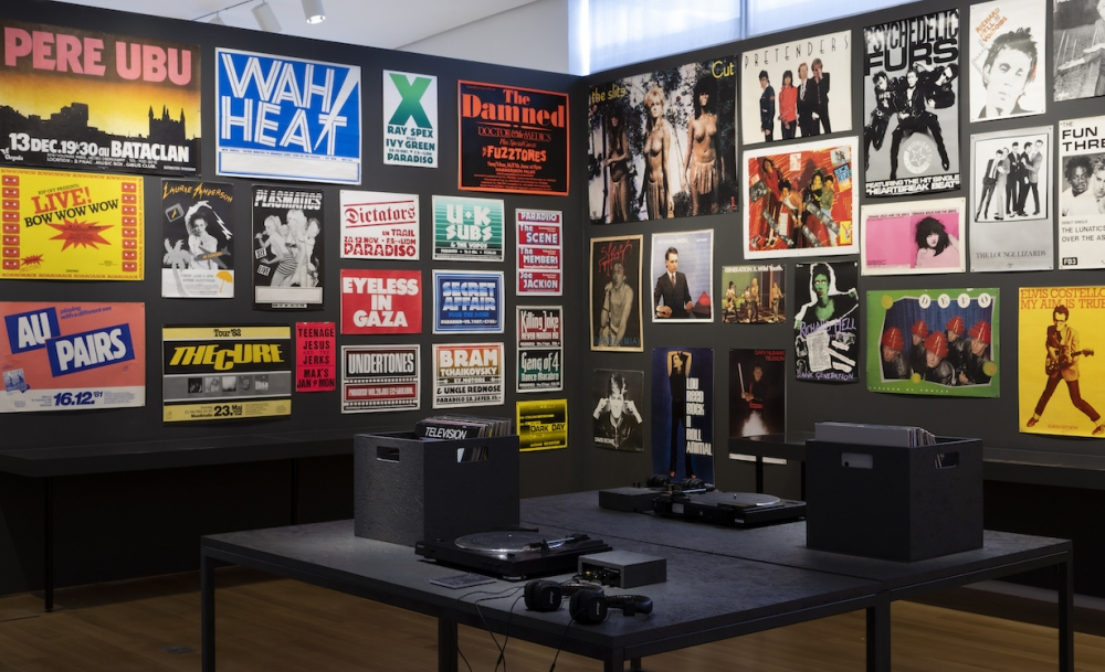 "Installation view of ""Too Fast to Live, Too Young to Die"" at the Museum of Art and Design. Photo by Jenna Bascom."