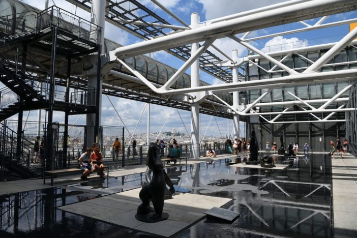 The Georges Pompidou Center, Paris