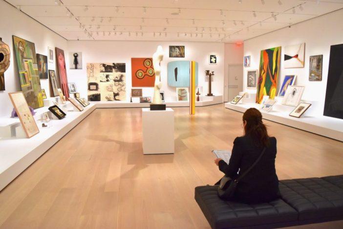 """Artist's Choice: Amy Sillman"", galeria do MoMA. Imagem: Ben Davis"