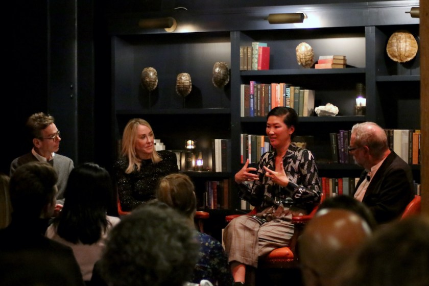 UNTITLED ART panel discussion with collector and SFMOMA Trustee Wayee Chu, Laura Smith Sweeney, Principal of LSS Art Advisory, and veteran interior designer Gary Hutton, speak about the process of building a thoughtful art collection.