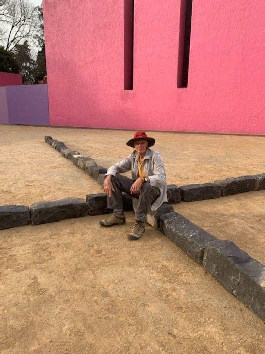 Richard Long at Cuadra San Cristobal.