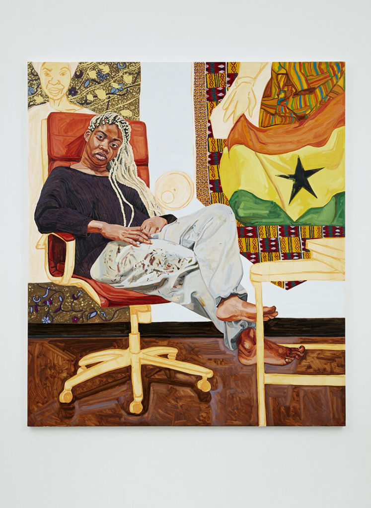 Jordan Casteel, <em>Kimmah</em> (2019). Courtesy of the artist.