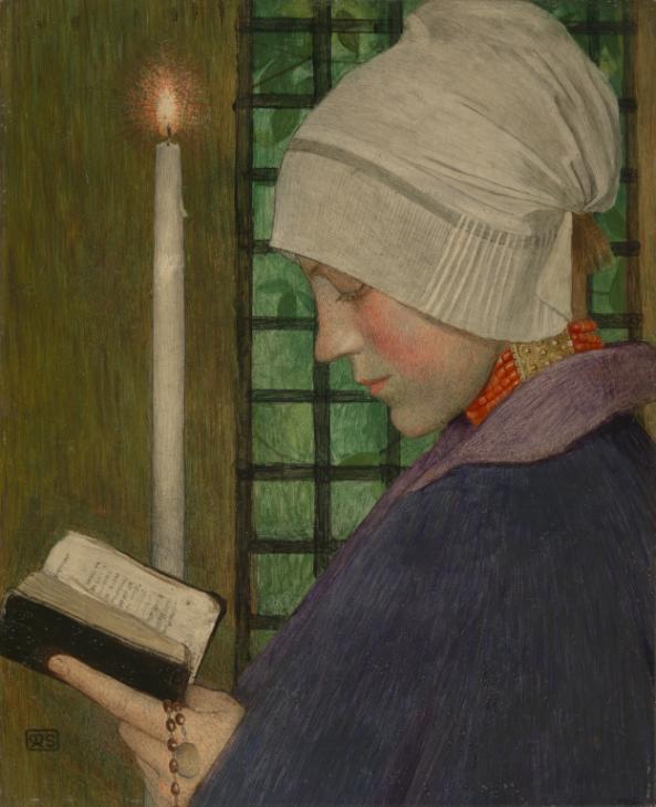 Marianne Stokes, <em>Candlemas Day</em> (circa 1901 ). Courtesy of the Tate.