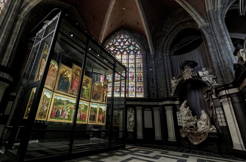Le retable de Gand à la cathédrale Saint-Bavon. Photo: Cedric Verhelst.