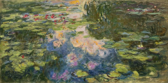 Claude Monet, Le Bassin aux nymphéas (1917-19_. Image courtesy Sotheby's.