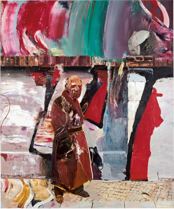 Adrian Ghenie, <i>The Trip</i> (2016). Courtesy of Sotheby's Hong Kong.